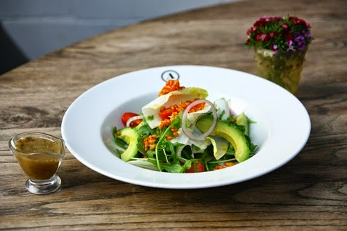 Acme Bar & Coffee - Avocado and Grapefruit Fennel Salad