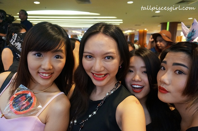Fish (ohfishiee), Charmaine (tallpiscesgirl), Amelie, Lisa (Arisa) Chow