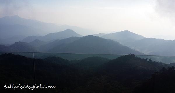 Breathtaking scenery of highlands