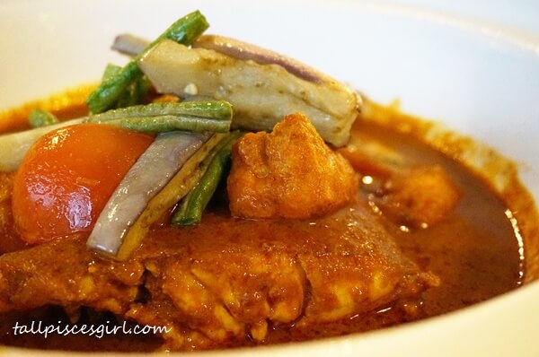 Makan Place Restaurant - Nyonya Fish Head Curry