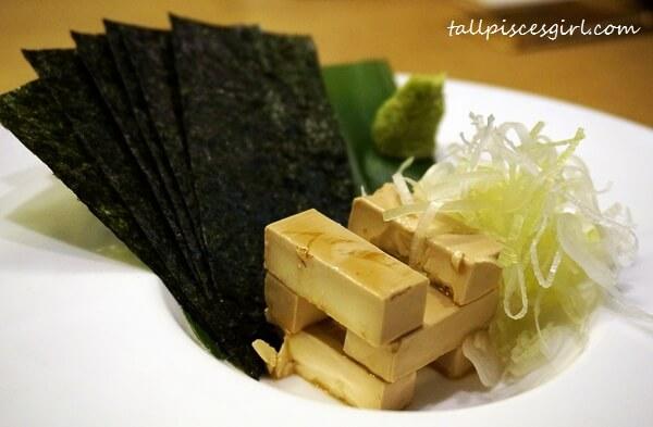 IPPUDO - Marinated Cream Cheese with Crispy Seaweed