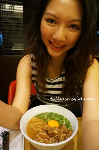 tallpiscesgirl X Tokushima Ramen. Yummy!
