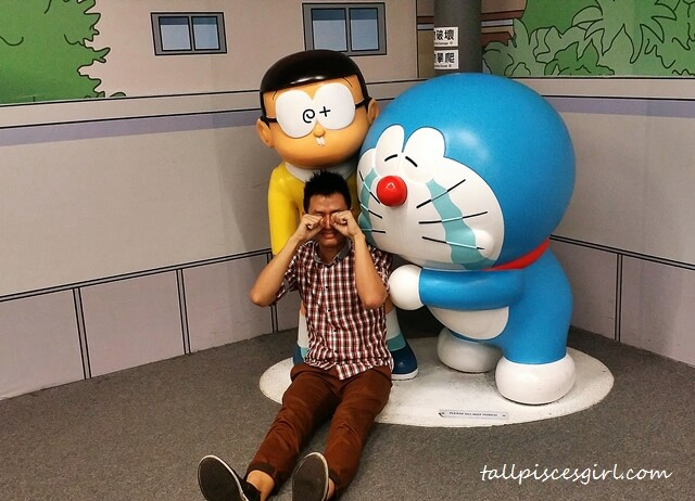 100 Secret Doraemon Gadgets Expo - Bad actor! You're obviously smiling!