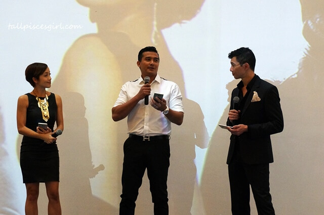 Aaron Aziz @ Samsung Galaxy Note 5 Launch