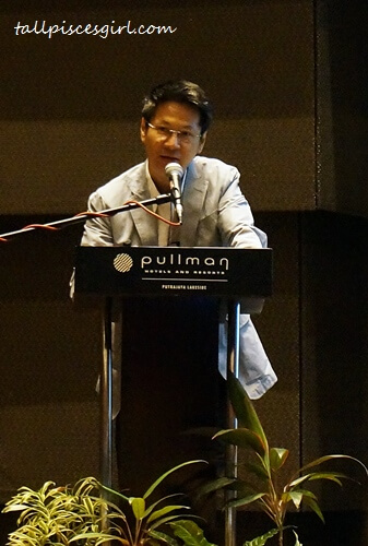 Marketing Officer for MyAppszil (Asia) Sdn. Bhd., Dr. Francis Yap