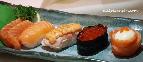 Sushi Moriawase (Price: RM 20.99)