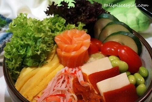 Sakae Salad (Price: RM 13.99)