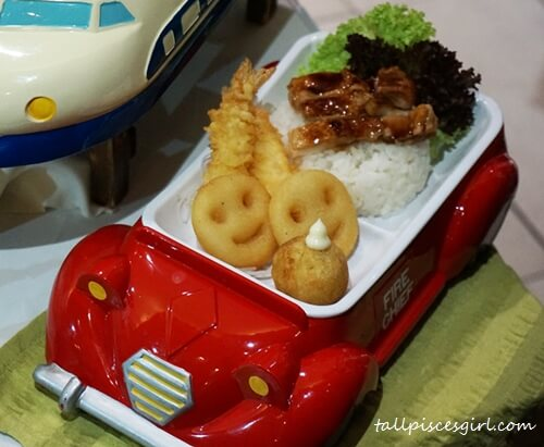 Sakae Kid's Meal - Fire Engine (Price: RM 14.99)