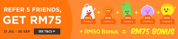 ShopBack Special Referral Promo