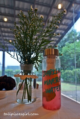 Sparkling Mineral Water bottle