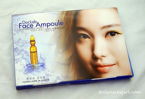 DocLab Korea Face Ampoule Packaging (front view)