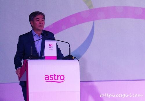 AGSS 主席兼Astro首席营运员陈宝福
