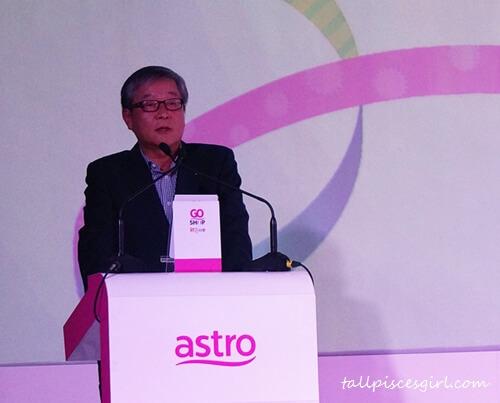 GS Home Shopping Inc. 的全球业务部高级副总裁 Cho Sunggoo 先生
