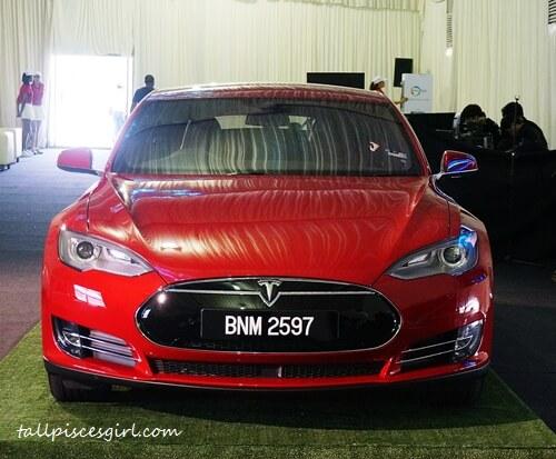 Tesla Model S 85 Front View