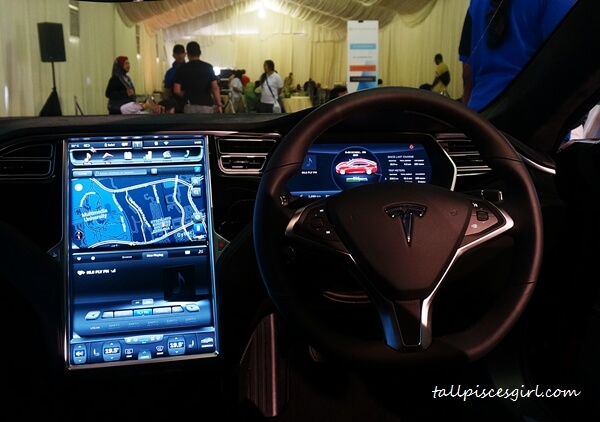 Tesla Model S Dashboard