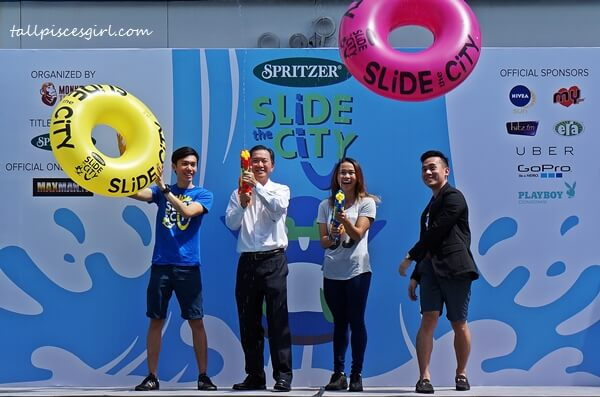 Inaugural launch of Slide the City Malaysia