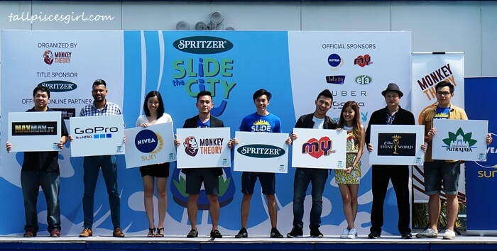 Slide the City Malaysia sponsors