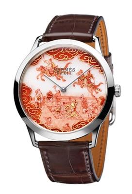HERMES - Slim d'Hermès Koma Kurabe Watch