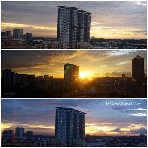 Sunset @ Bandar Sunway