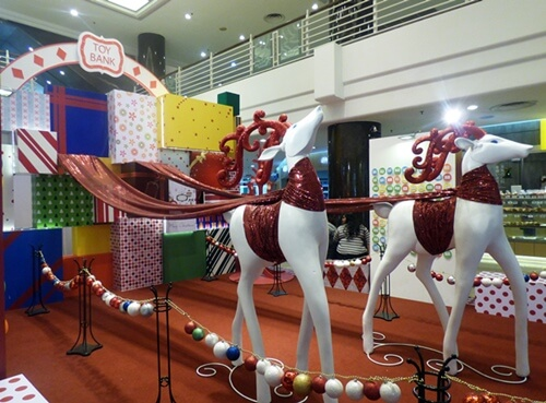Cheras LeisureMall Celebrating Christmas From The Heart Toy Bank