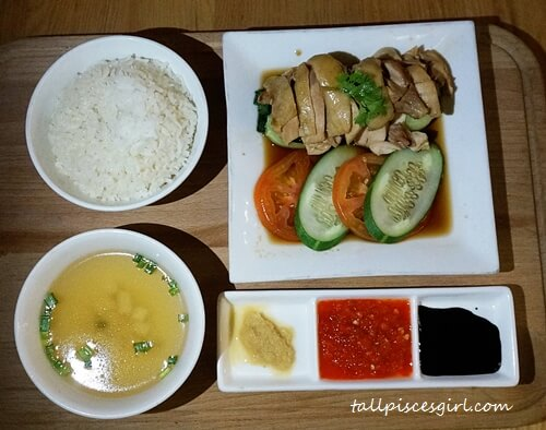 Hainanese Chicken Rice (Price: RM 26.90)