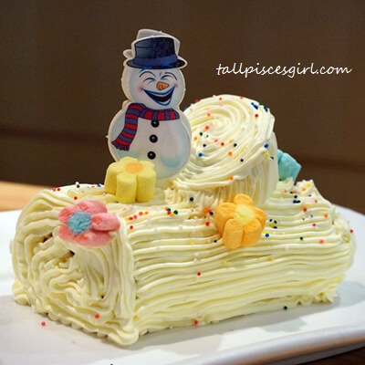House Restaurant - Christmas Yuletide Log Cake
