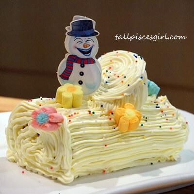 House Restaurant - Christmas Yuletide Log Cake