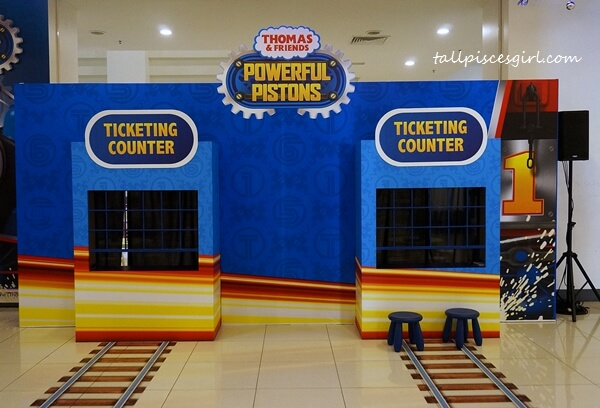 Thomas & Friends: Powerful Pistons Ticketing Counter