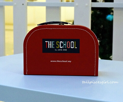 The School Limited Edition Lunch Box on display