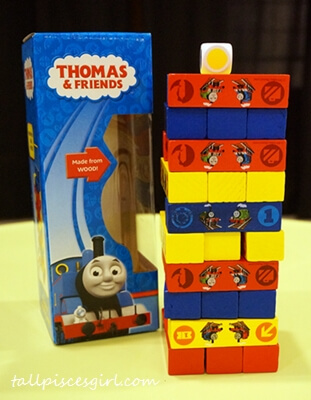 Thomas & Friends Colour Stack Game