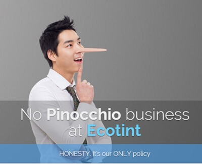 ECOTINT's Honesty Policy