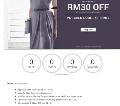Twenty3 Voucher Code Email