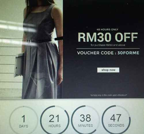 Twenty3 Voucher Code Screenshot