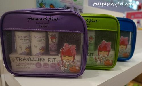Hanna & Kent Travelling Kit (Price: RM 38.10)