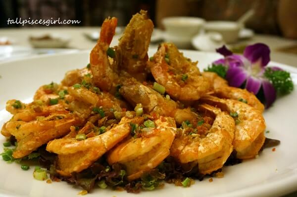 Zuan Yuan Chinese New Year Set 2016 - Wok Fried Tiger Prawns with Vietnamese Five Spiced Powder