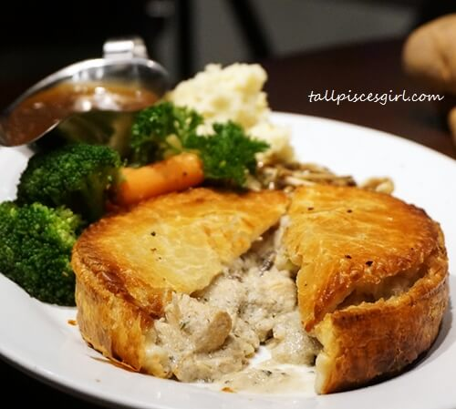 Chicken Mushroom Pie (Price: RM 38)