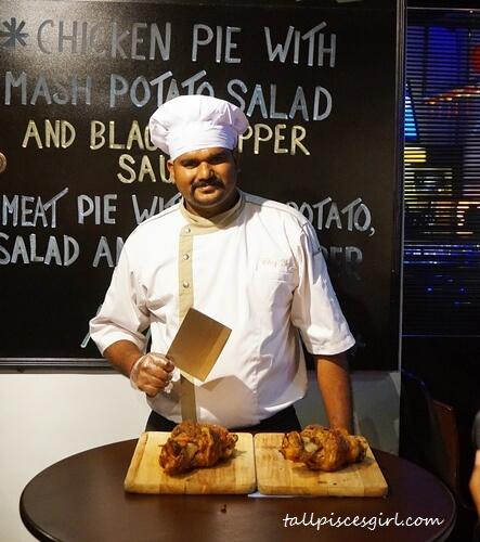 Chef Yogi @ White Horse Tavern