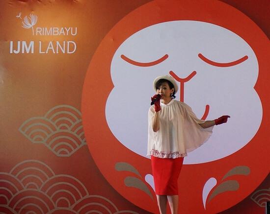 Rimbayu Together Gather - Astro Artiste Performance (Sharon)