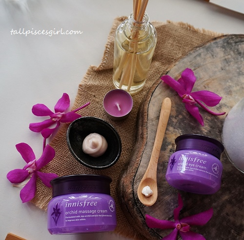 Orchid Massage Cream (80ml) | Price: RM 73 / Orchid Eye Cream (30ml) | Price: RM 101