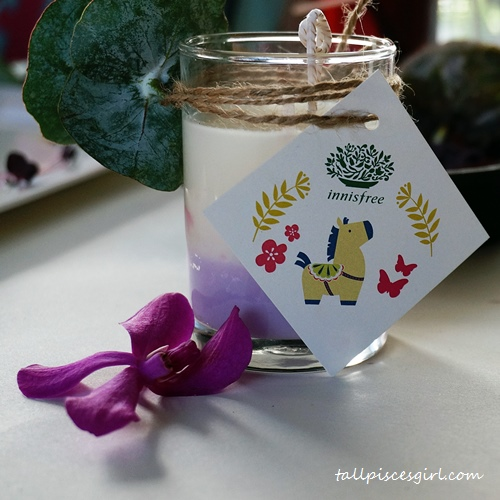DIY Orchid Scented Candle