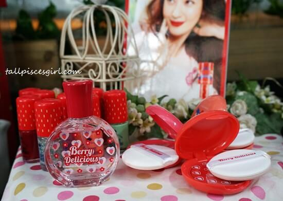 Strawberry Souffle Nail, Strawberry Eau De Perfume, Strawberry Cream Blusher
