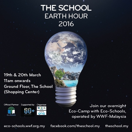 Eco-Camp, Picnic in the Dark @ The School Earth Hour 2016