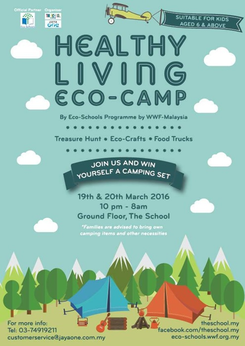 Healthy Living Eco-Camp @ The School Earth Hour 2016