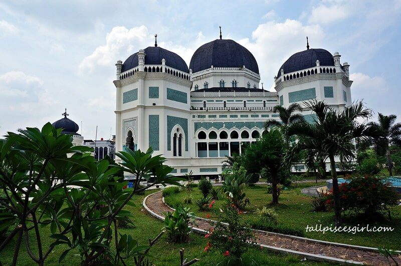 Masjid Raya Al Mashun a.k.a. Great Mosque of Medan