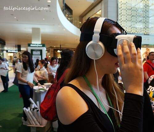 Let's visit green tea plantation @ Jeju Island with Samsung VR Gear