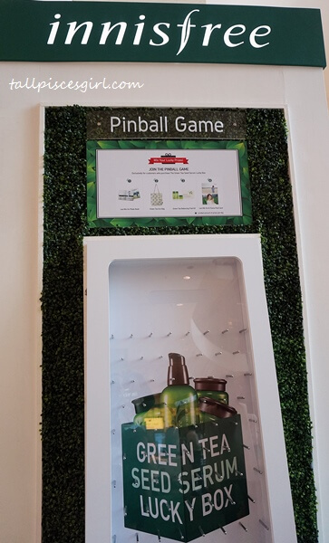 innisfree Journey of The Green Tea Seed Serum Pinball Game