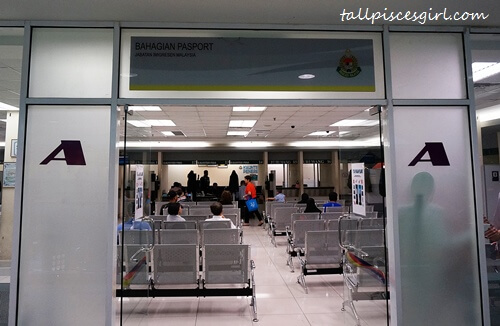 Renew Passport in Malaysia - Room A for Passport Related Matters