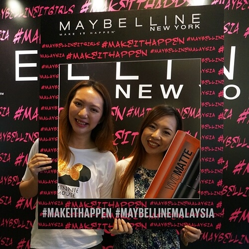 Charmaine & Fiona - #MaybellineITGirls? It's our dreams! But we'll make it happen!
