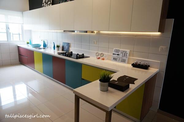 Bandar Rimbayu Penduline Type B Kitchen