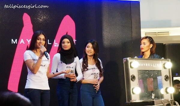 #MaybellineITGirls - Elisya, Zamrina and Jxhia